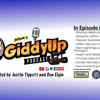 Giddy Up S3E8 with Don Elgin and Justin Tippett