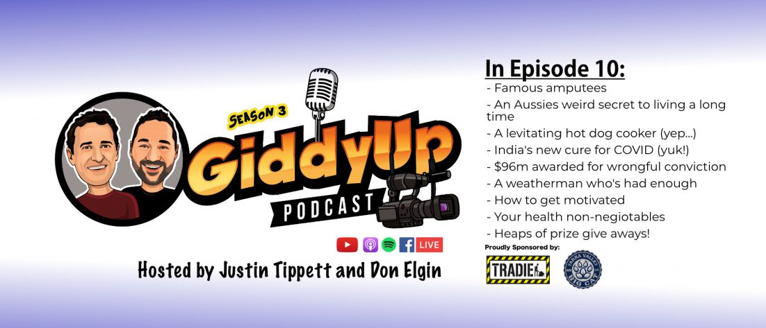 GiddyUp S3E10 Podcast with Don Elgin and Justin Tippett