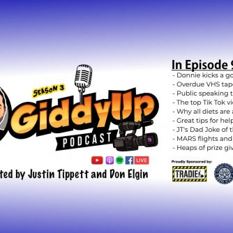 Giddy Up S3E9 with Don Elgin and Justin Tippett